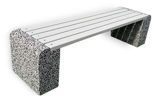 архитектурный бетон скамейки